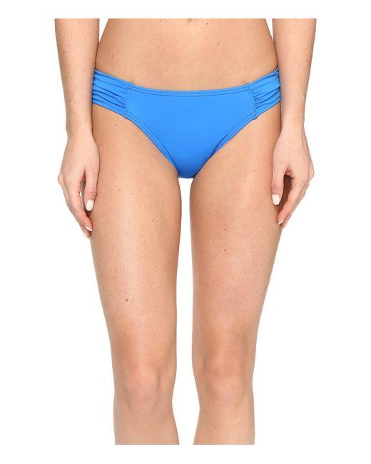 Tommy Bahama   Blue Pearl Side-shirred Hipster Bikini Bottom   Lyst