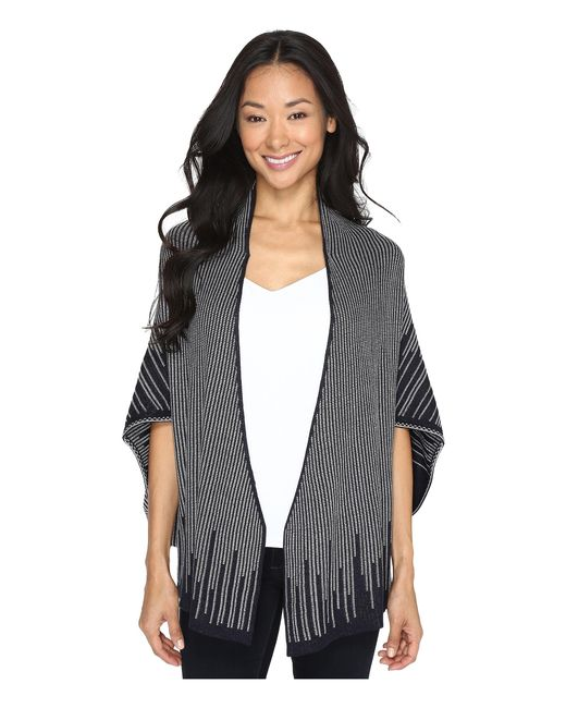 NIC+ZOE | Gray Graphic Limit Cardy | Lyst