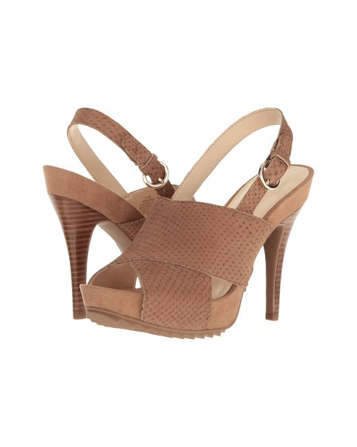 Nine West | Brown Rayna | Lyst ...