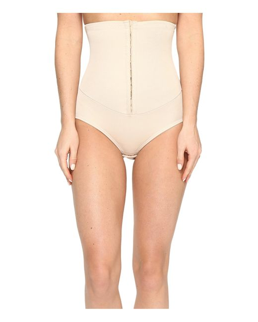 Miraclesuit | Natural Inches Off Hook & Eye Waist Cinching Brief | Lyst