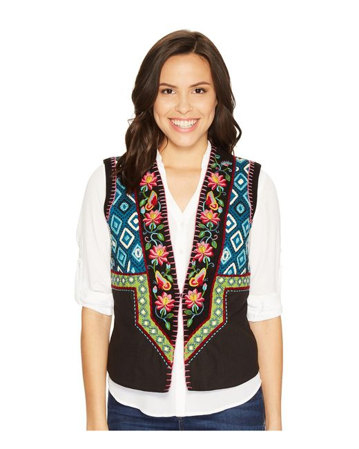 Double D Ranchwear | Black Shadow Catcher Vest | Lyst