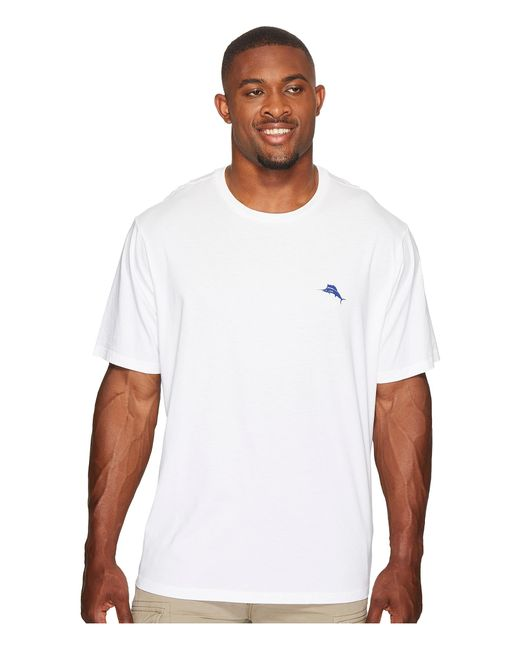 Tommy Bahama | White Big & Tall Birds Eye View Tee for Men | Lyst