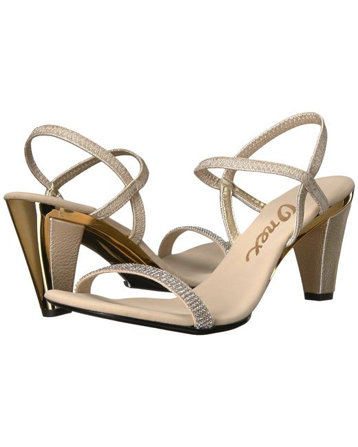 Onex - Multicolor Iced (platinum) Women's Dress Sandals - Lyst