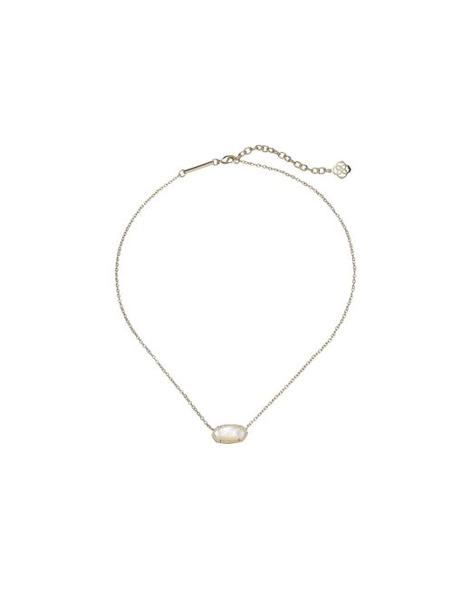 Kendra Scott | Metallic Elisa Birthstone Necklace | Lyst