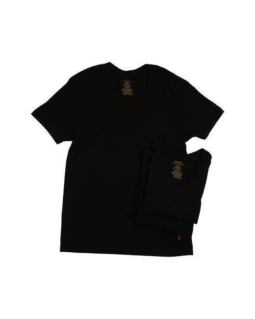 Polo Ralph Lauren | Black 3-pack V-neck T-shirt for Men | Lyst