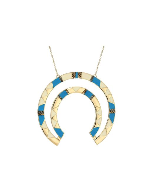 House of Harlow 1960   Blue Nelli Pendant Necklace   Lyst