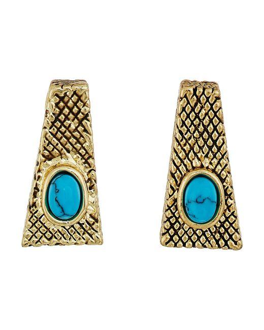 House of Harlow 1960   Multicolor Tanta Crosshatch Stud Earrings   Lyst