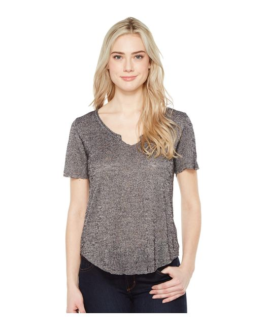 Project Social T | Gray Suzie Shirttail Tee | Lyst