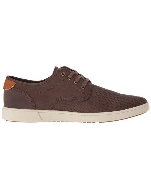 e4459928927 ... Steve Madden - Brown Flyerz (black) Men s Lace Up Casual Shoes for Men  ...