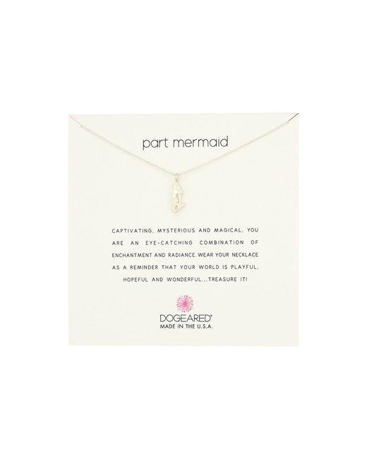 Dogeared   Metallic Part Mermaid Enchanted Mermaid Necklace   Lyst