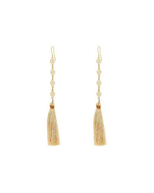 Vanessa Mooney | Multicolor The Estella Tassel Earrings | Lyst