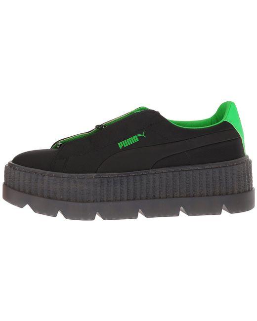 ... PUMA - X Fenty By Rihanna Cleated Creeper Surf ( Black green Gecko   Black ... e527b44da
