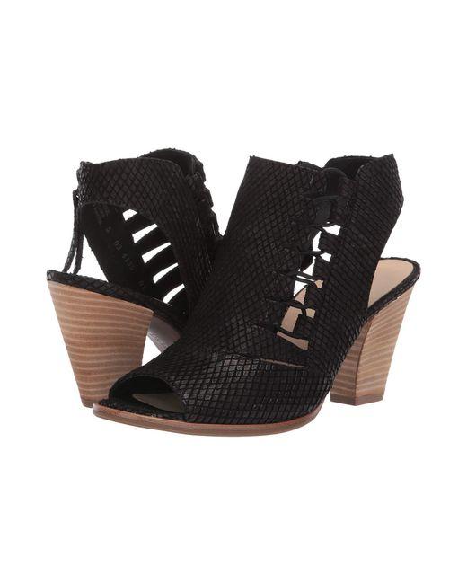 ca59190cd7 Paul Green - Sabrina Sandal (black Snake) Women s 1-2 Inch Heel Shoes ...