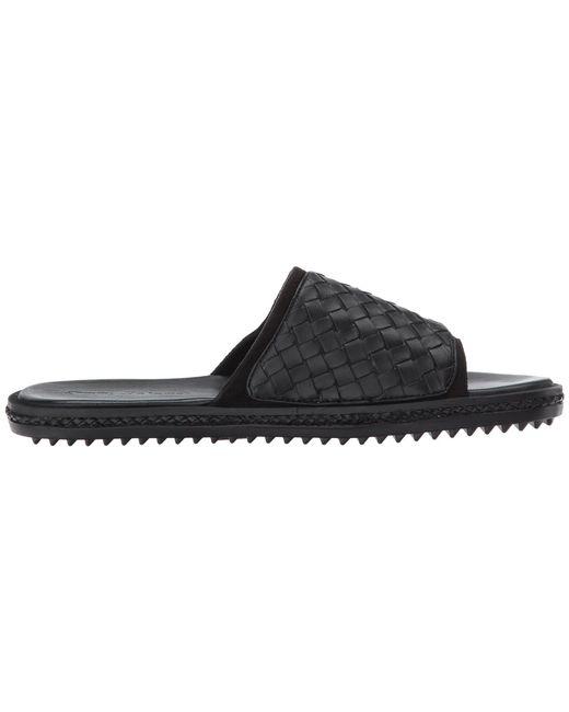 9c433020a95e ... Tommy Bahama - Black Shore Crest Slide (dark Brown Woven) Men s Sandals  for Men ...