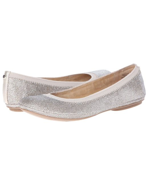 f715786eac6 Bandolino - Multicolor Edition (natural Leather) Women s Flat Shoes - Lyst  ...