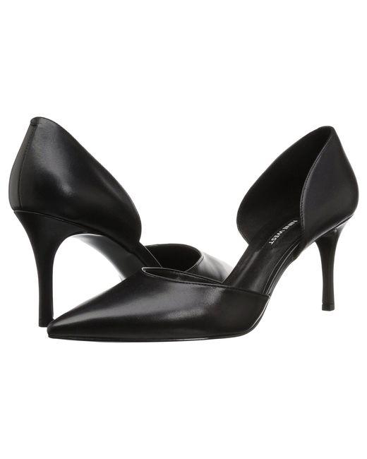 6afb34d78ac1 Nine West - Mossiel D orsay Pump (black Leather) Women s Shoes - Lyst ...