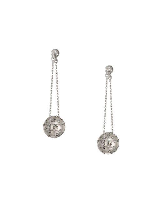 House of Harlow 1960 - Metallic Mod Dangle Earrings (silver) Earring - Lyst
