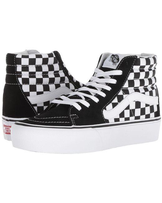 89964e09ce Lyst - Vans Sk8-hi Platform 2.0 (true White true White) Skate Shoes ...