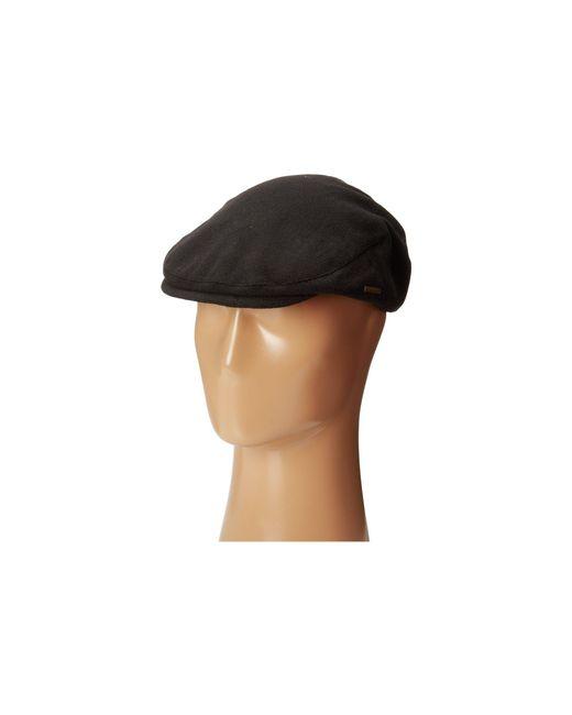 Stetson - Black Wool Blend Ivy Cap for Men - Lyst