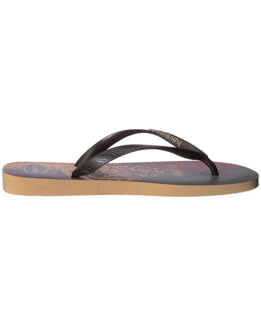 8d2b3e1ca361 ... Havaianas - White Top Harry Potter Sandal (ivory) Sandals for Men -  Lyst ...