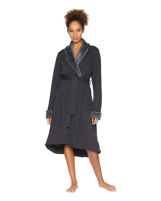 7683d8767a Ugg - Black Duffield Ii Robe (lavender Aura Heather) Women s Robe - Lyst ...