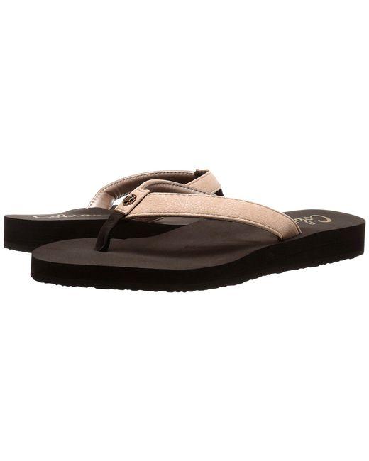 Cobian - Black Skinny Bounce (grey) Women's Sandals - Lyst