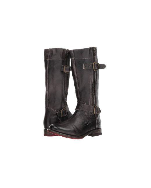 Bed Stu - Black Gogo Lug (tan Rustic) Women's Shoes - Lyst