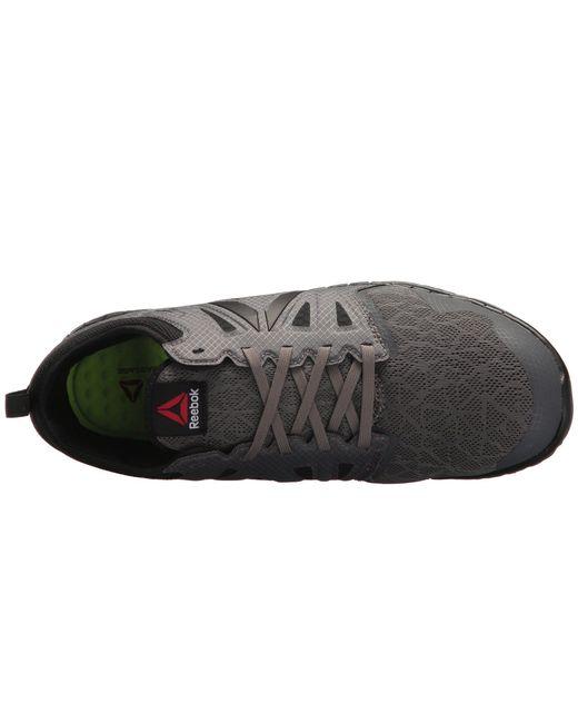 Lyst - Reebok Zprint Work (black dark Grey) Men s Shoes in Gray for Men a16806163