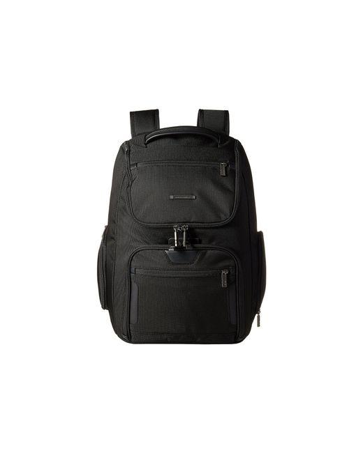 Briggs & Riley | Black @work - Large U-zip Backpack | Lyst