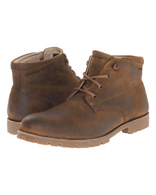 Wolverine - Brown Cort Waterproof Leather Chukka (grey Suede) Men's Work Boots for Men - Lyst