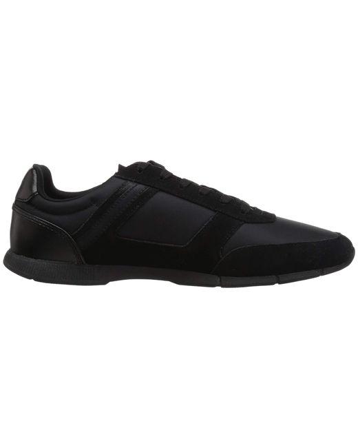 7b06d60e1870b3 Lyst - Lacoste Menerva Sport 318 1 (black red) Men s Shoes in Black ...
