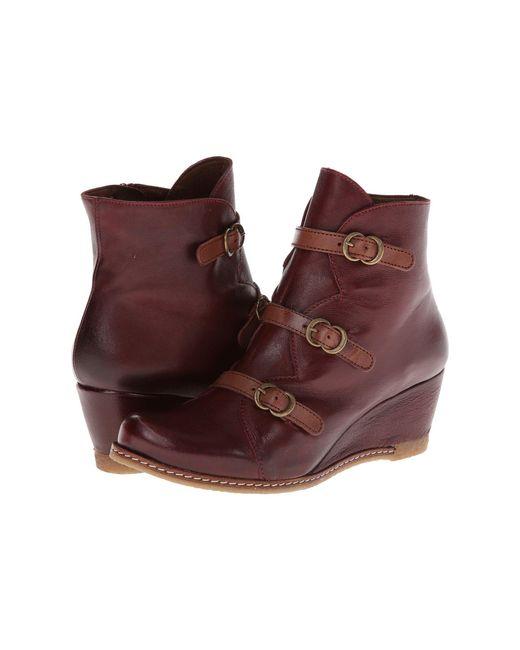 Eric Michael - Purple Lena (grey) Women's Zip Boots - Lyst
