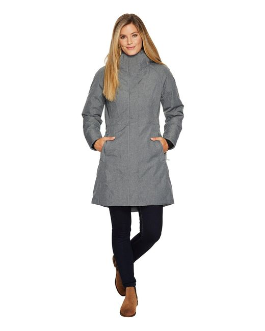 The North Face - Gray Arctic Parka Ii (new Taupe Green) Women's Coat - Lyst