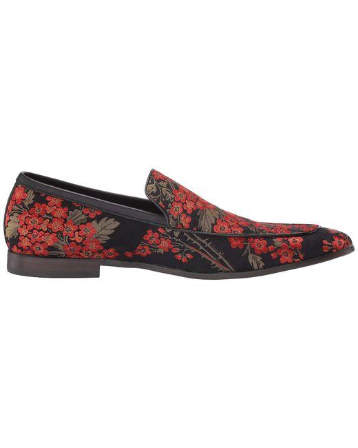 b3abbddbc3e Lyst - Steve Madden Duplex (black red) Men s Slip On Shoes in Red ...