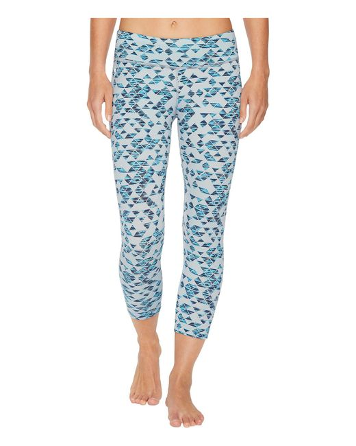 Smartwool - Phd(r) Printed Capris (blue Ice) Women's Capri - Lyst