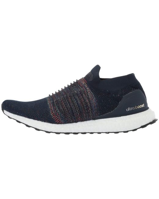 b0f63bd9f ... Adidas Originals - Blue Ultraboost Laceless (collegiate  Navy white black) Men s Running ...