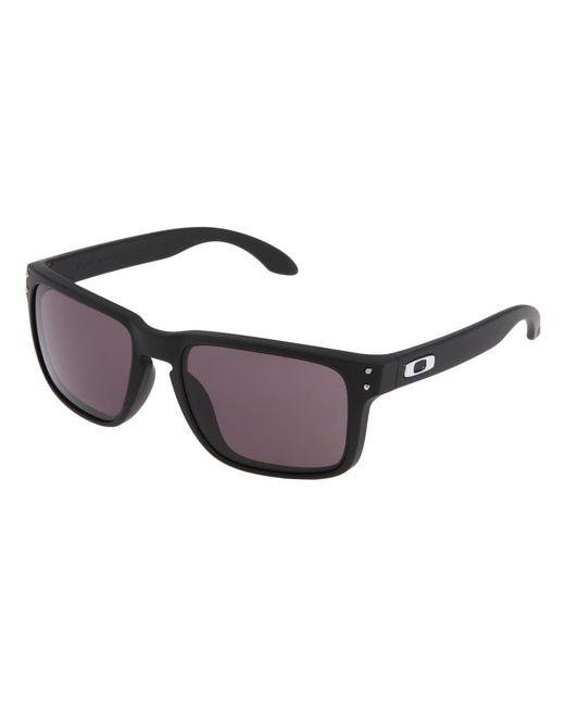 0e5af01a9f Oakley - Black Holbrook Sunglasses for Men - Lyst ...