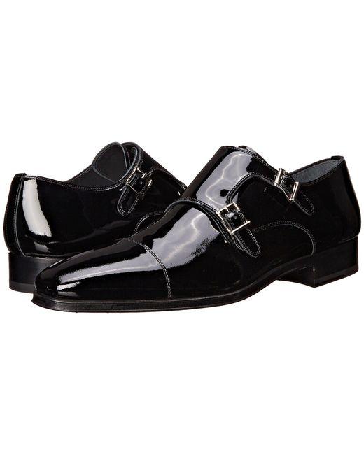 Magnanni Shoes - Drigo (black Patent) Men's Monkstrap Shoes for Men - Lyst