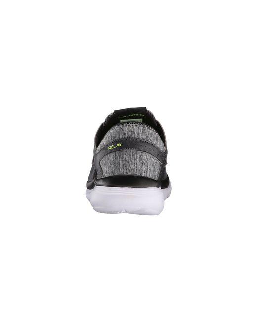 0f87f801cf76 ... Saucony - Black Kineta Relay (grey Beige) Men s Running Shoes for Men  ...