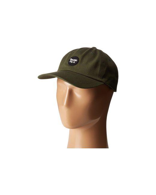 Brixton - Green Wheeler Cap (white) Traditional Hats for Men - Lyst