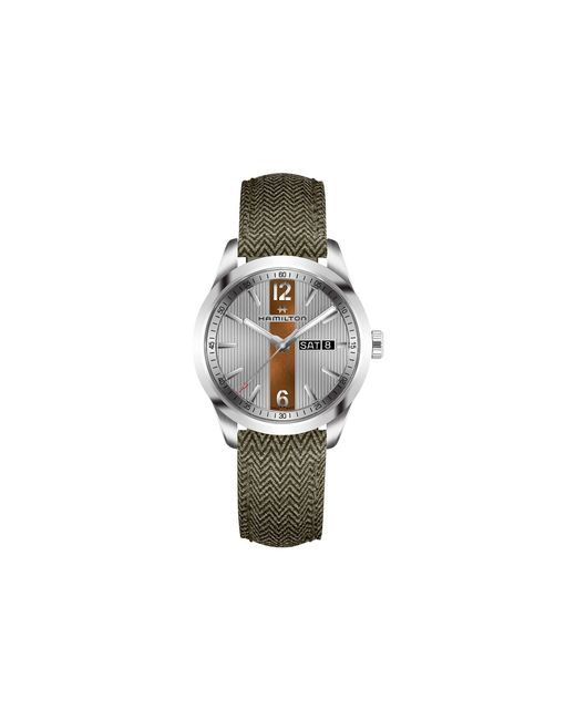 Hamilton - Gray Broadway Day Date - H43311985 for Men - Lyst