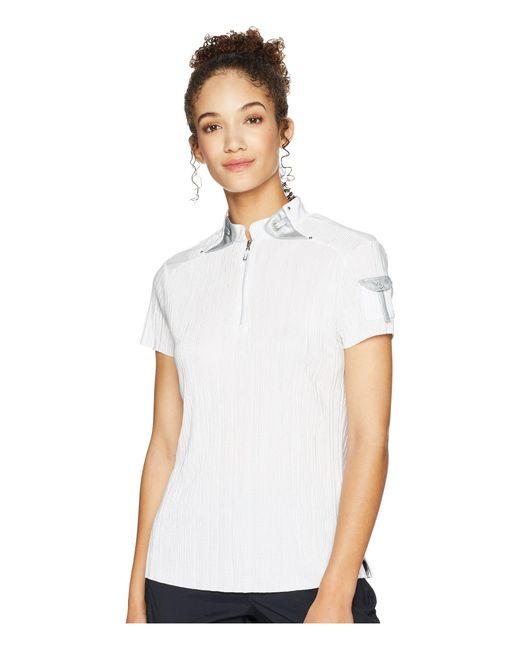 Jamie Sadock - White Crunchy Short Sleeve Top (luminosity Pink) Women's Clothing - Lyst