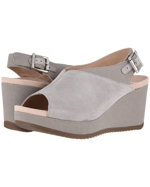 9c573f26efa Lyst - Vionic Trixie (black) Women s Wedge Shoes in Gray