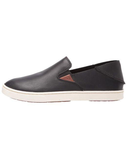 830497236092 ... Olukai - Pehuea Leather (black black) Women s Shoes ...