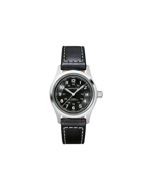 Hamilton - Khaki Field - H70455733 (black) Watches for Men - Lyst