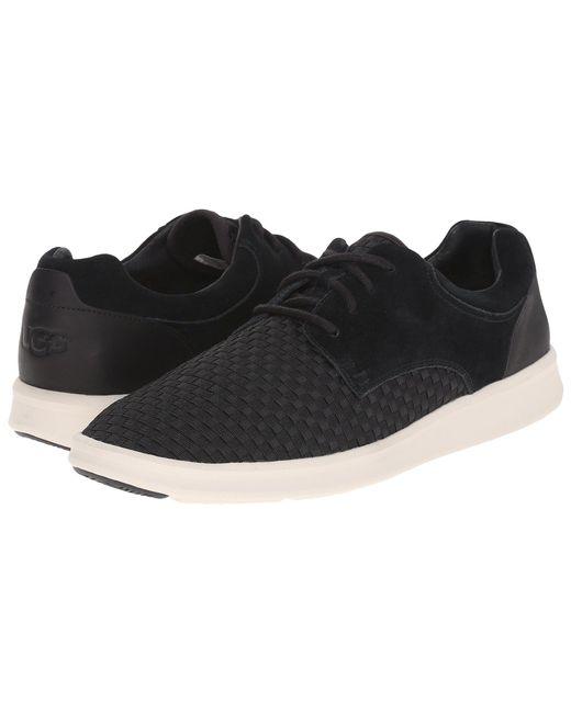 Ugg - Black Hepner Woven (metal Nylon Suede) Men's Shoes for Men - Lyst