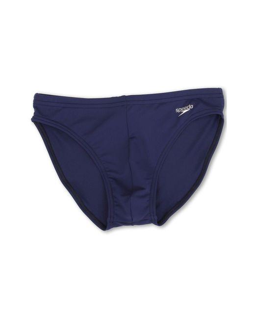 Speedo - Blue Solar 1 Brief (white) Men's Swimwear for Men - Lyst