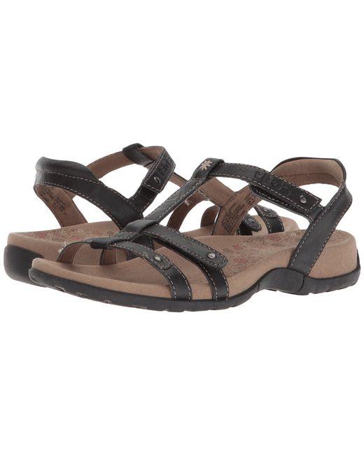 Taos Footwear - Black Trophy (vintage Silver) Women's Sandals - Lyst