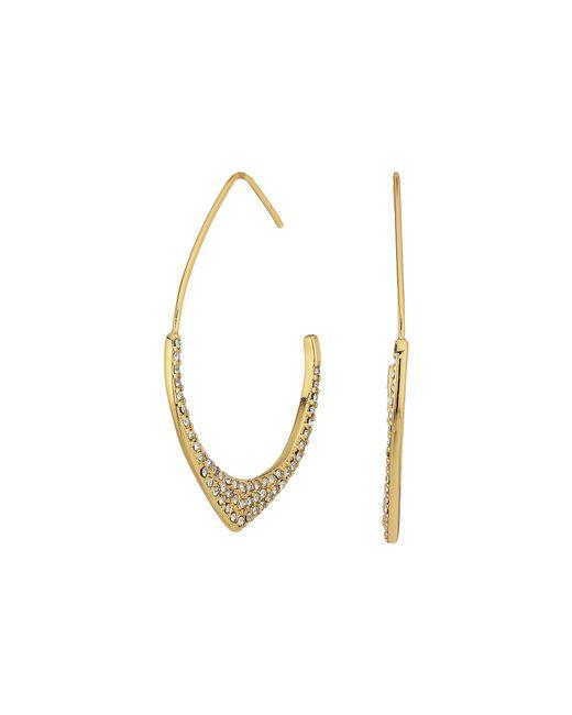 Rebecca Minkoff | Metallic Alexandria Large Hoop Earrings | Lyst