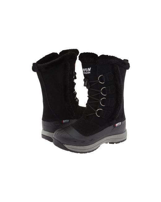 Baffin - Black Chloe (dark Chocolate) Women's Cold Weather Boots - Lyst